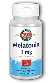 Melatonina 1Mg 120 Tabletas Solaray