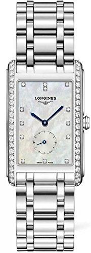 Longines Dolcevita - L5.755.0.87.6 - MOP Diamond Dial Diamond Bezel Quartz Women's