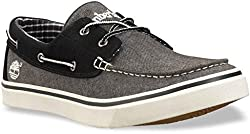 Timberland Men's Newmarket Ox Boat Shoe,Grey,12 M US