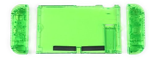 Replacement Housing for The Nintendo Switch - Green Replacement Transparent