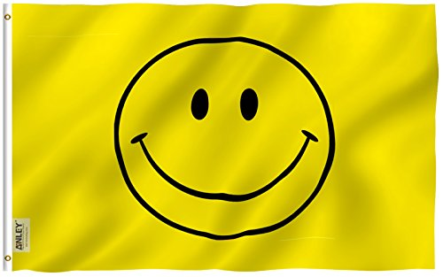 fly breeze yellow smiley face