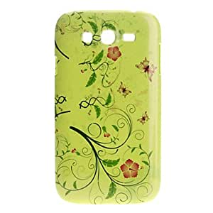Lovely Butterfly Pattern Noctilucent Hard Case for Samsung Galaxy I9080/I9082