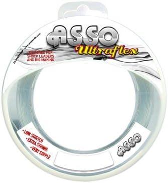 Asso Ultraflex 60lb Line 50m Clear