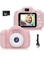 Fotocamera per Bambini Video/Photo HD 1080p Schermo LCD da 2 Pollici con SD/32GB