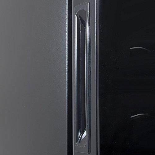 12 Bottles Thermoelectric Wine Cooler Freestanding Temperature Display Glass Door by Allblessings (Image #5)