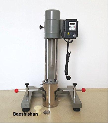 JFS-550 frequency conversion brushless dispersing machine digital display high speed dispersion machine Lab mixer by Baoshishan