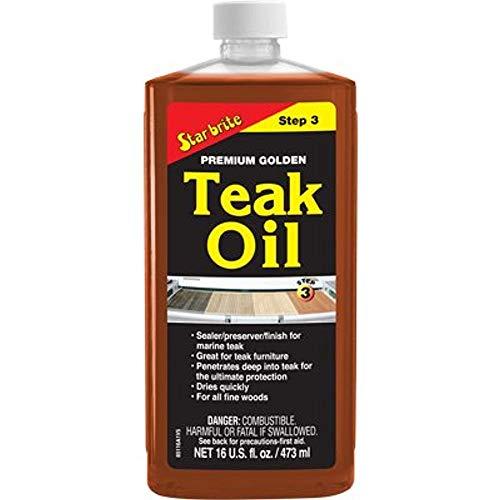 Premium Golden Teak Oil -