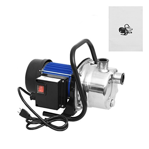 1.6HP Multifunctional Stainless Shallow Well Pump, Booster Pump, Lawn Sprinkling Pump, Sprinkler Water (Lawn Sprinkler Pump)