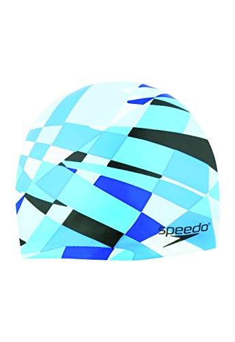 Speedo Optimism Cap, Blue, One Size
