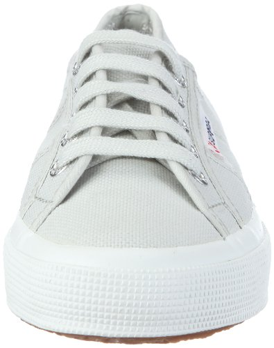 Superga 2750 COTU CLASSIC S000010, Unisex - Erwachsene, Sneaker, Silber  (931 Alluminium), EU 40