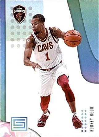 cheaper 3af0c e4315 Amazon.com: 2018-19 Panini Status #66 Rodney Hood Cleveland ...