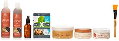 Cuccio Skin Care Collection, Vanilla Bean and Sugar, 7 Count - Skin Care Vanilla Bean