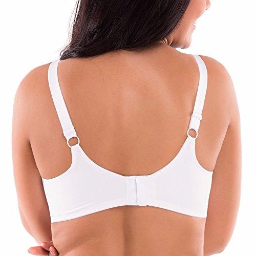 ef1f76d172e92 Delimira Women s Full Coverage Underwire Non Padded Soft Seamless Minimizer  Bra durable modeling
