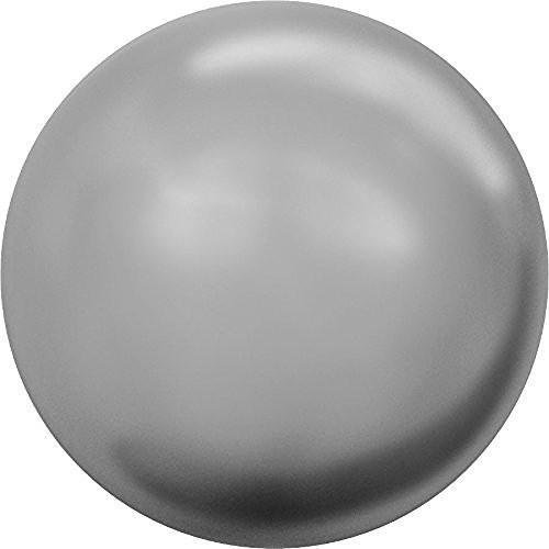 - 5810 Swarovski Pearls Round Crystal Grey Pearl | 10mm - Pack of 100 (Wholesale) | Small & Wholesale Packs