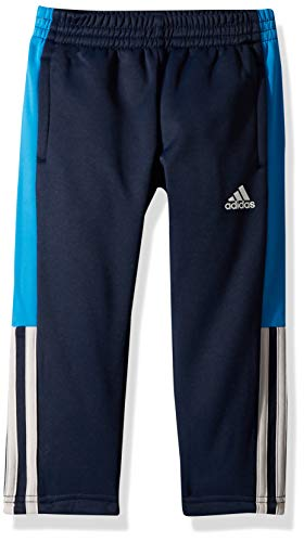 (adidas Boys' Big Tricot Pant, Navy/Blue L (14/16))