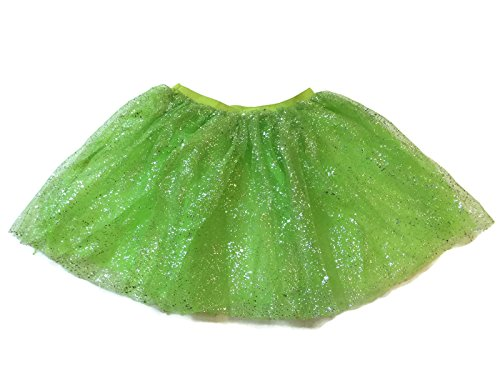 Rush Dance Ballerina Girls Dress-Up Sparkling Glitter Costume Recital Tutu (One Size, Key Lime) (Batman Costume Sydney)