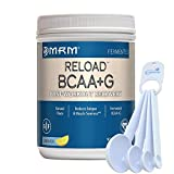 MRM BCAA+G Reload Post-Workout Recovery, Supports Muscle Recovery, 29.6 oz Lemonade Bundle with a Lumintrail Measuring Spoon Set