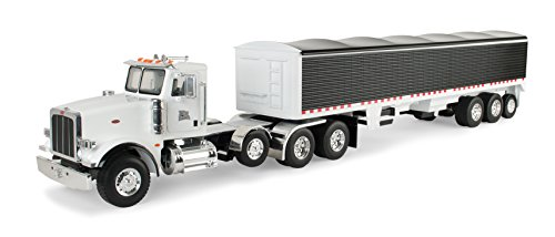 Ertl Big Farm Peterbilt Model 367 Vehicle With Grain (Farm Model)