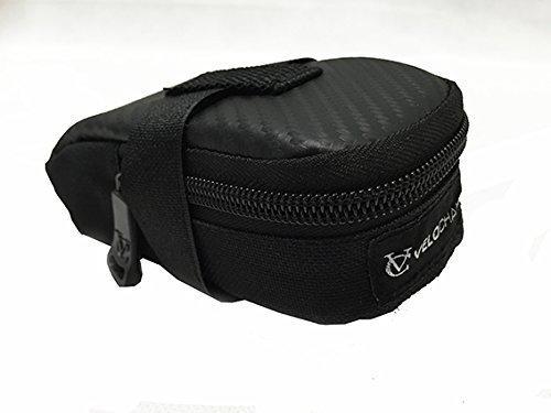 VeloChampion Sonic Pack de sillin para Bicicleta - Negra Bike Seat Pack - Black Maxgear Limited 1637