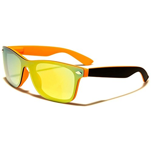 Classic Retro 90s Urban Indie Style Summer Beach Mirrored Lens - Style Indie Mens