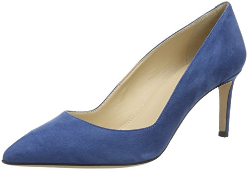 HUGO Damen Hellia-s 10195651 01 Pumps Blau (Medium Blue 428)