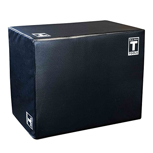 Body-Solid Tools 3 Way Soft Plyometrics Box, Black by Body-Solid Tools