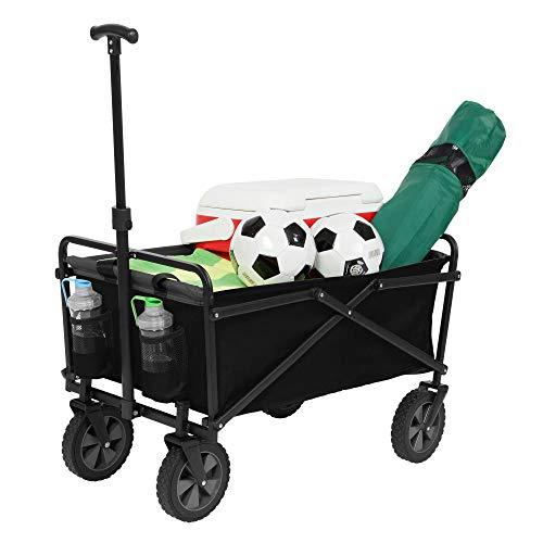 (Seina Manual 150 Pound Capacity Heavy Duty Folding Utility Cart,)