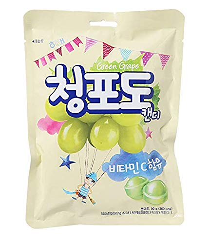 Haitai Haitai Green Grape Candy, 3.17 oz (Pack of 20) by Haitai