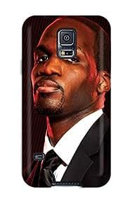 High Grade Malailne Flexible Tpu Case For Galaxy S5 - Joel Anthony Miami Heat