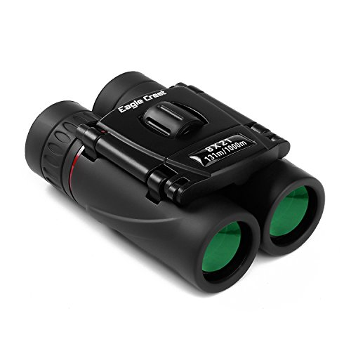 Mini Compact Lightweight 8x21 Small Binoculars for Concert Opera Sports Game Outdoors Hiking Travel Kids Bird - Ladder Partner