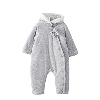 Amazon.com: Lemonkid® Newborn Baby Warm Romper Cotton