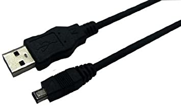 Logilink CU0019 USB 2.0 Cable, A Male To B Mini 4 Pin Hirose Male/3 ...