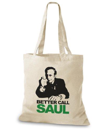 Stylobags Jutebeutel/Tasche Better call Saul Natur