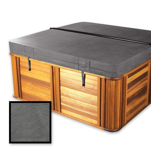 Standard 4-2 Replacement Hot Tub Spa Cover 84 x 84 x 6 Radius//Rounded Corners in Charcoal The Cover Guy in Stock