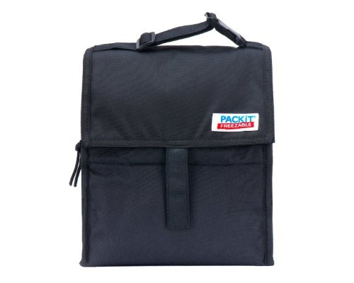 packit-r-freezable-reusable-lunch-bag-with-adjustable-strap-black