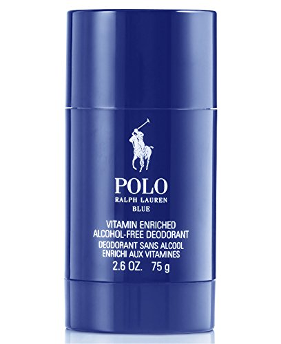 Polo Blue Ralph Lauren Deodorant Stick 2.6 Oz For Men (Set Polo Cologne Sport)