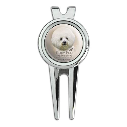 - GRAPHICS & MORE Bichon Frise Dog Breed Golf Divot Repair Tool and Ball Marker