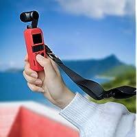 Intraxis Funda Protectora de Silicon para dji Osmo Pocket [Color Rojo]
