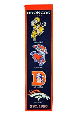 - NFL Denver Broncos Heritage Banner
