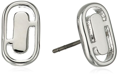 Marc Jacobs Spring 2017 Icon Cut Out Silver Stud Earrings