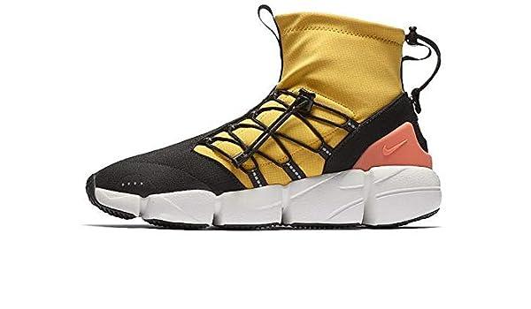 meet 4b8a8 e2463 Amazon.com   Nike AIR Footscape MID Utility DM Mens Fashion-Sneakers  AH8689-700 9.5 - University Gold Shadow Brown-Black   Fashion Sneakers