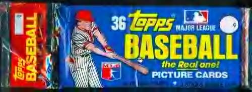 1981 Topps Grocery Rack Pack - Factory Sealed 36 Cards - Look for Kirk Gibson & Tim Raines Rookie Cards