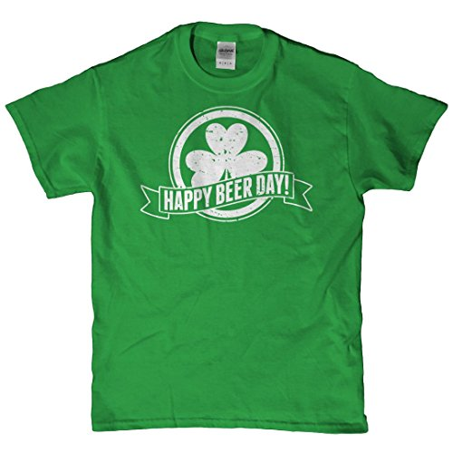 Minnesota Bobs - Funny St Patrick's Happy Beer Day T (Happy Birthday Sig)