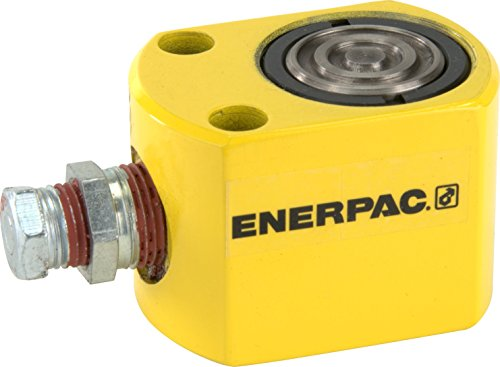 Enerpac RW-50 Universal Heavy-Duty Cylinder,  Single Acting, Block Model, 4970 lb Capacity, 0.62