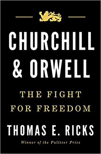 Image result for churchill and Orwell amazon