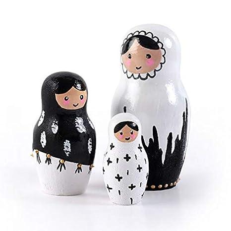 Graine Créative Pequeños moldes de Yeso de látex - Muñecas Rusas: Amazon.es: Hogar