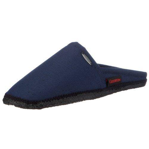 Giesswein Laar 411044765 - Zapatillas de casa de tela para hombre Azul