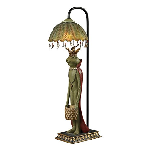 Lamp Frog Accent (Sterling Home 93-19334 King Frog Basket Accent Lamp, 8