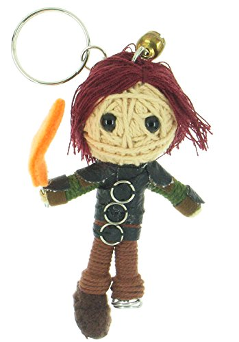 Stoick Costume (Hiccup Voodoo String Doll Keyring Keychain)