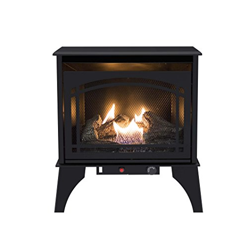 Vent Free Gas Fireplace - Pleasant Hearth VFS2-PH20DT 20000 BTU Compact Vent-Free Gas Stove, 23.5